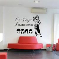 Hair Cut Hair Design Beauty Salon Vinyl Wall Art Decal