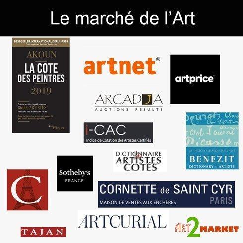 Les acteurs du marché de l'Art