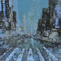 Cityscapes blue ⓒ Pierre Dessein