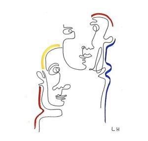 Deux visages ⓒ Léa Hoche