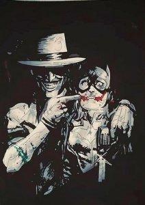 Joker accompagné de Catwoman ⓒ Marion Meissner