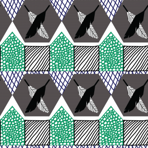 Emma May's Cross Feather Hero Pattern for Illustration