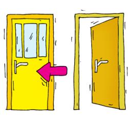 Shut Door Clipart & Shut The Doorclipart Boy Door Holder Clip Art Image Holding Adorable Open Sc 1 St Iosmusic org