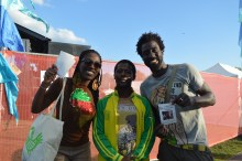The Africa Live Festival London showing support!