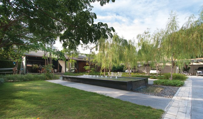 Oer-areemitr's garden and pavilion by Integrated Field, Image courtesy of Integrated Field