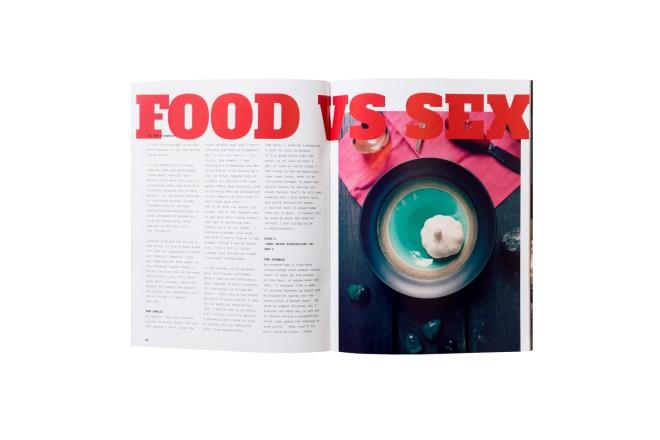 Crust Catalog Volume 1: Food & Sex by Chin Hui Wen, Photo by Ketsiree Wongwan