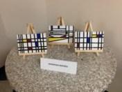 Mondrian Inspired Art