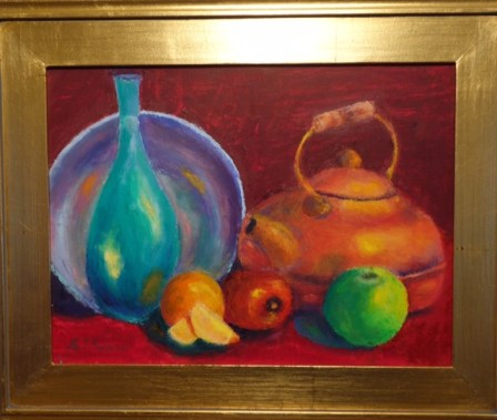 Steves still life with kettle