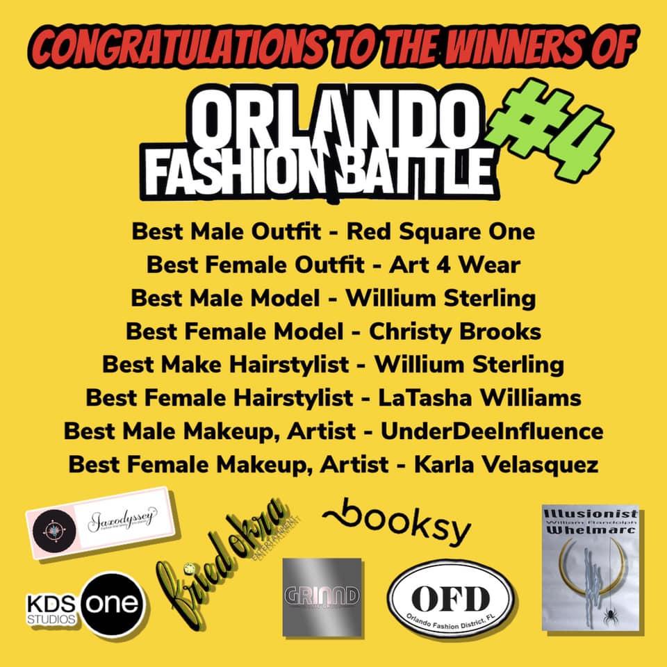 Orlando Fashion Battle Winners