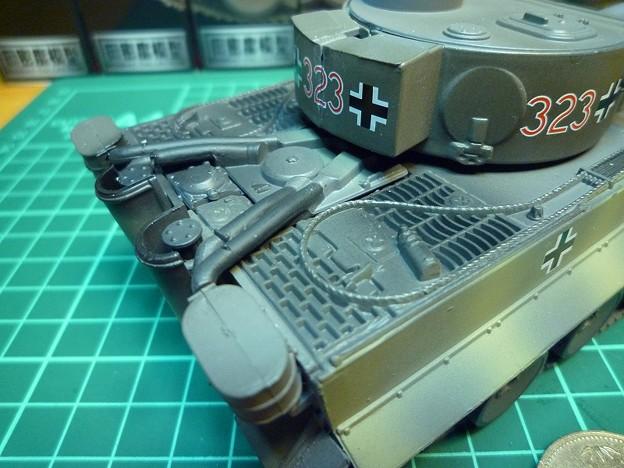 「鋼密度模型タイガー戦車」組み立て、完成寫真編   きょうは なにをしてあそぼうか? - 楽天ブログ