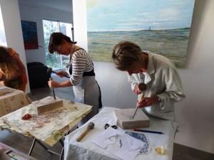 atelier sculpture 2015 claudine