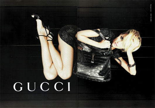 Anja Rubik for Gucci Fall 2009 by Ines & Vinoodh