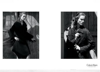 Jac for Calvin Klein Fall 2009 by David Sims