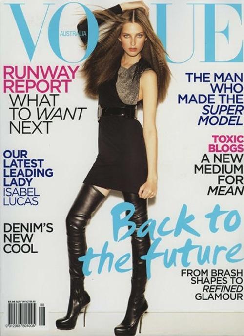 Kelsey Van Mooks Aussie Vogue August 2009