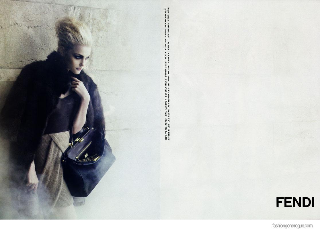 Jessica Stam by Karl Lagerfeld