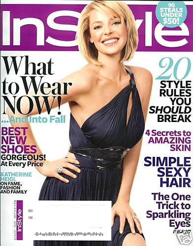 Katherine Heigl for Instyle August 2009