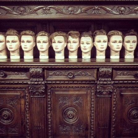 plastic heads