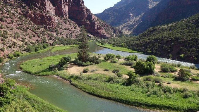 Overlooking the Green River in Dinosaur National Monument