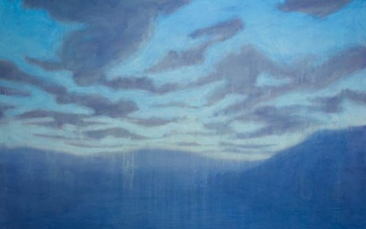 Painting by Eigil Nordstrøm