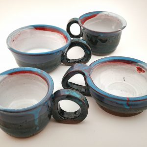 Ceramic set of cups AAP81