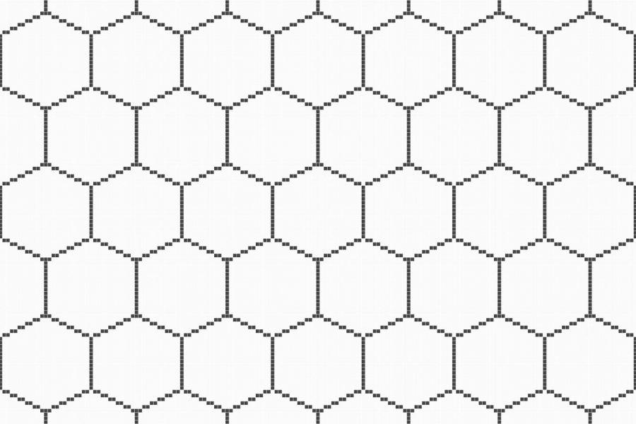 hex tile patterns