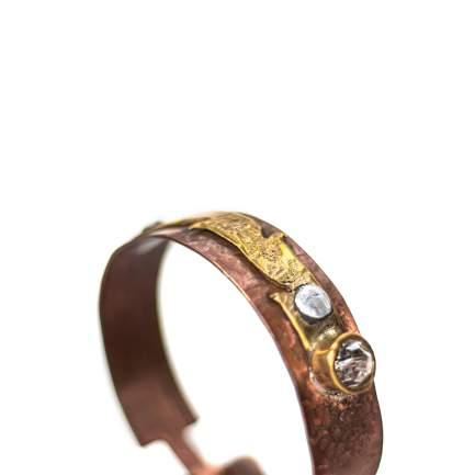 pulsera cobre y laton