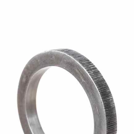 pulsera estriada aluminio