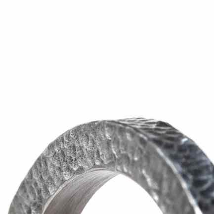 pulsera martelé aluminio