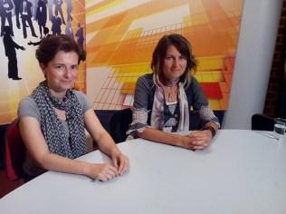 TV Presentation of artAmari and Paz de la Calzada