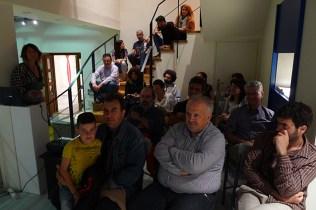 Paz de la Calzada's talk at the Museum of Contemporary Art of Crete