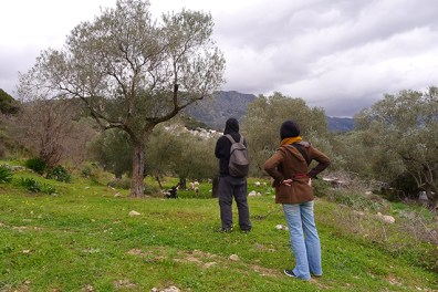Gazing at Kalogerou village