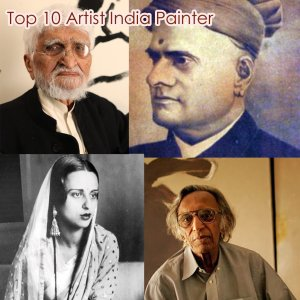 top 10 famous artists of India