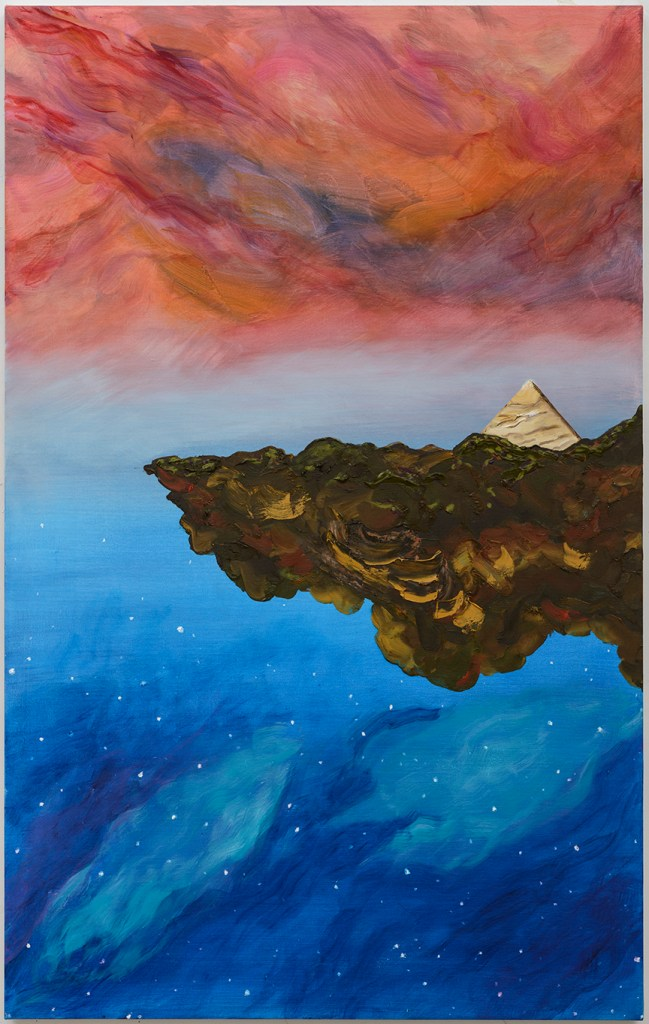 Edge, 48 x 30 oil on canvas