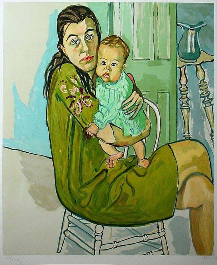 Alice Neel Empowerment: Works by Modern to Post Modern Women Artists