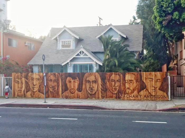Zachary Aronson, Venice Mural Day, Photo courtesy of the artist