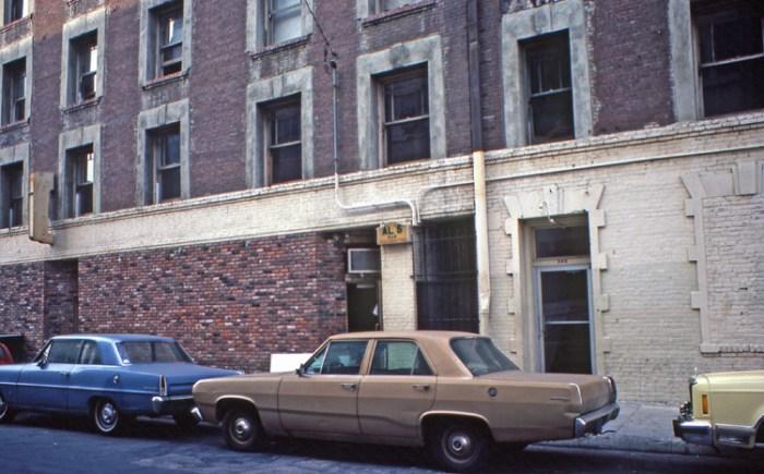 Al's Bar in 1981. Image courtesy of Jon Peterson.