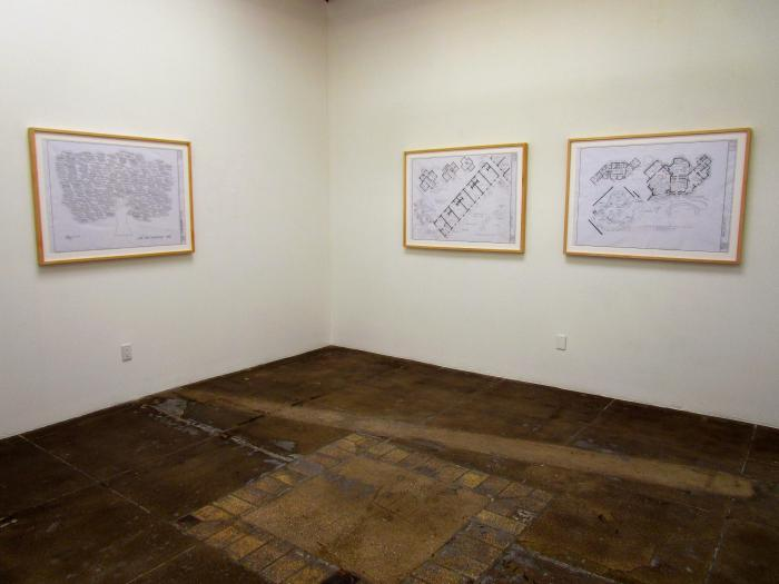 New Work by Mark Bennett at Mark More Gallery. Photo Credit: Patrick Quinn
