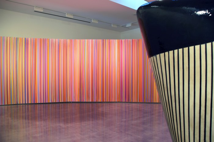 "Jun Kaneko's ""Mirage"" Photographed By Kristine Schomaker."
