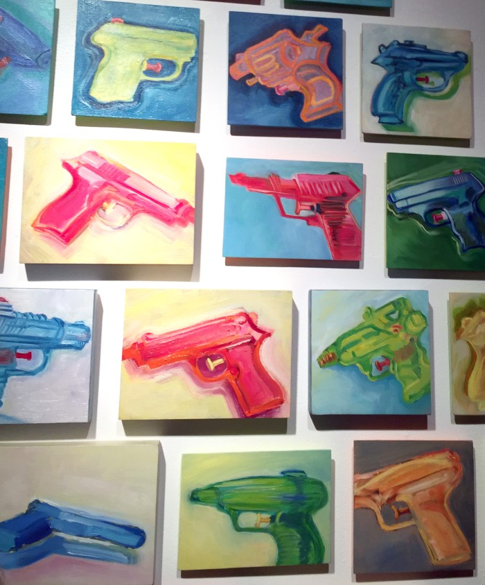 Joyce Dallal. Fun Guns. Photo courtesy Genie Davis