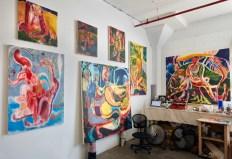 Maja Ružnić Residency Studio Image. CES Gallery. Photo Courtesy CES Gallery