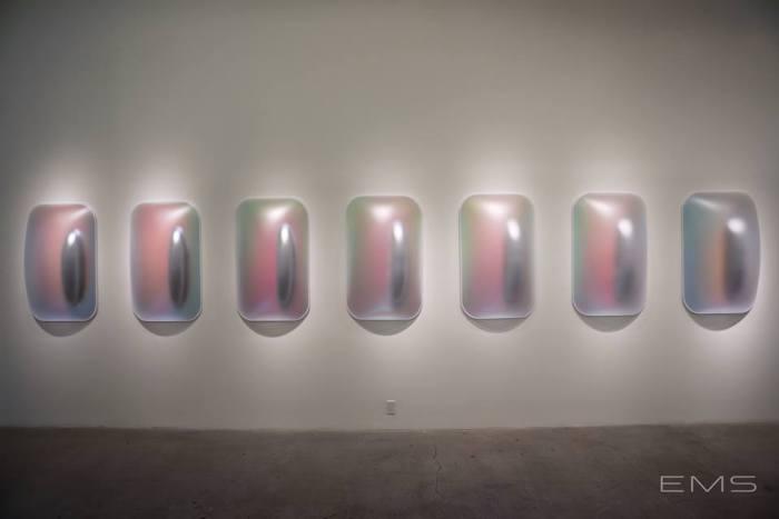Gisela Colon: Hyper-Minimal at Diane Rosenstein Fine Art. Photo Credit Eric Minh Swenson
