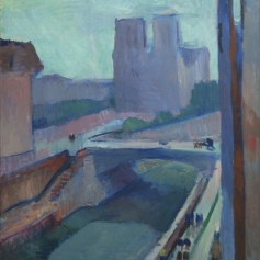 Henri Matisse. Notre Dame, A Late Afternoon. 1902. Albright-Knox Art Gallery. ©2016 Succession H. Matisse / ARS NY