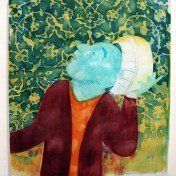 """""""Soaking Wet"""" Yes, Please, and Thank You Projects: New Paintings by Orkideh Torabi Photo Credit Patrick Quinn"""