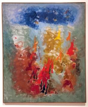 Ethel Schwachacher. The Women of Abstract Expressionism. Palm Springs Art Museum. Photo Credit Lorraine Heitzman.