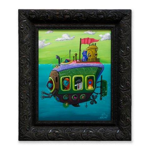 Ten Hundred. Submarine. Gabba Gallery. Photo Courtesy of Gabba Gallery.