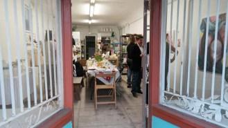 """A Painter and a Performance Artist walk into a Bar..."" Grab Bag Studio, Long Beach. Virginia Broersma. Photo courtesy of Grab Bag Studio and the artist"