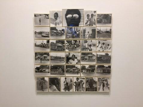 Joe Ray: Complexion Constellation. Diane Rosenstein Gallery. Untitled-1970-1972--31 silver gelatin prints-55x51 inches. Photo Credit Shana Nys Dambrot.