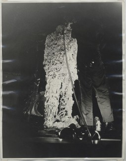 Joe Ray: Complexion Constellation. Diane Rosenstein Gallery. Joe Ray-with Lowell Darling and Tony Ramos-The Green Hotel Performance-1972-ten vintage gelatin silver prints-14x11 inches each. Photo Courtesy of Diane Rosenstein Gallery.