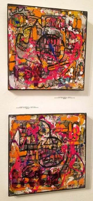 Jonas Fisch. Cratedigger 2. Gabba Gallery. Photo Credit Kristine Schomaker.