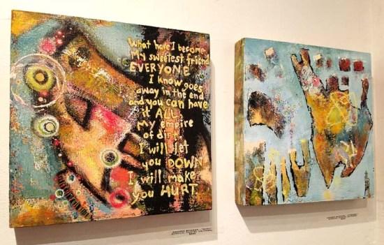 Andrea Bogdan. Cratedigger 2. Gabba Gallery. Photo Credit Kristine Schomaker.